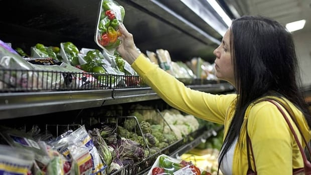 Increases at the grocery store led the way among all categories in December.