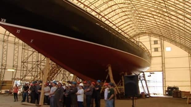 The transfer of the Bluenose II's assets has taken six years to complete.