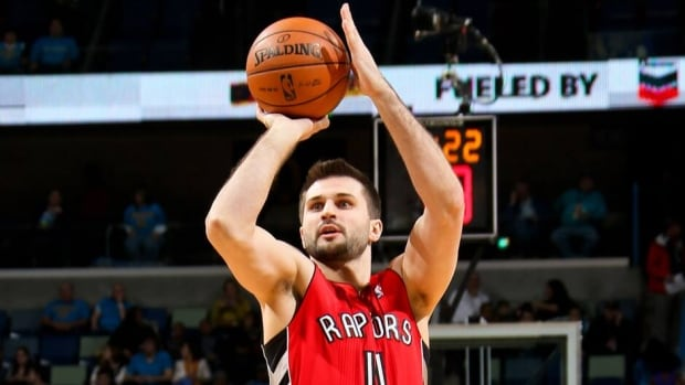 Linas Kleiza signed with Toronto as a free agent in 2010.