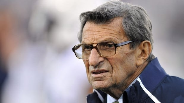 In a written letter shortly before his death, Penn State coach Joe Paterno offered a passionate defence of the university.