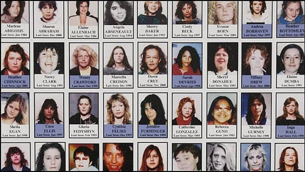 Serial killer Robert Pickton was convicted on six counts of second-degree murder, but is suspected of killing dozens of women who went missing from Vancouver's Downtown Eastside.