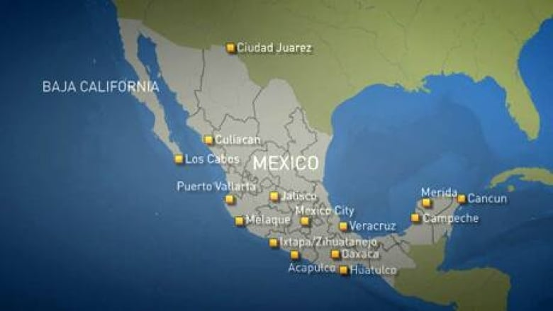 How Safe Is Mexico For Tourists Cbc News