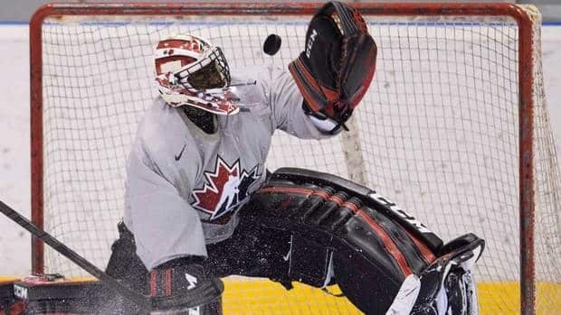 Team Canada goalie Malcolm Subban will get the start against Team Germany on Wednesday.