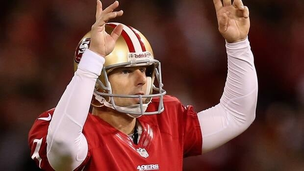 San Francisco released David Akers a month ago after he slumped during the 2012 season.