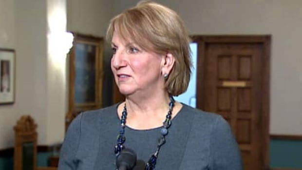 Premier Kathy Dunderdale says the Tory government is planning a law to require industrial operators to start paying into an environmental mediation fund from the start.