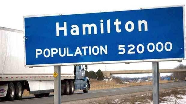 Hamilton needs a sign that shows more than just the population, says a local activist.