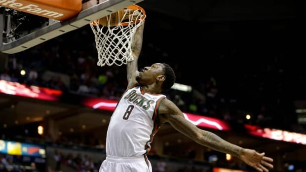 Larry Sanders of the Milwaukee Bucks  had career-highs of 9.8 points and 9.5 rebounds last season, and his 2.8 blocks per game ranked second in the NBA.