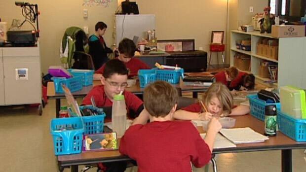Modular Classroom Moving ~ Morinville public students move to portable classrooms