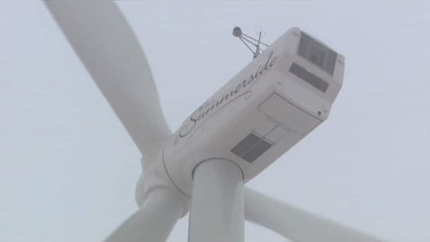 When the wind blows at night Summerside's wind turbines often produce excess electricity.
