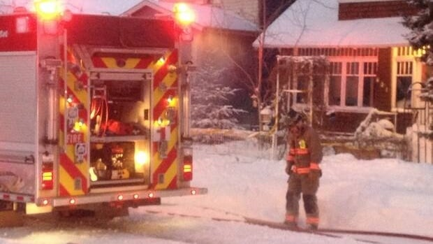 Saskatoon firefighters put out a chimney fire Friday morning that caused about $10,000 in damage.