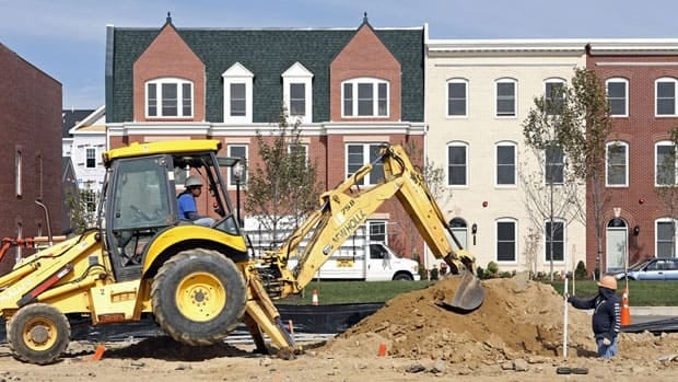 The annual rate of U.S. housing starts in December outpaced November's by 12.1 per cent.