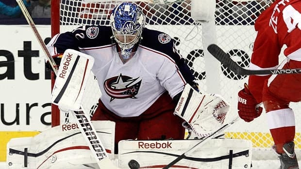 Columbus Blue Jackets goalie Sergi Bobrovsky had his team in playoff contention until the final night of the regular season.