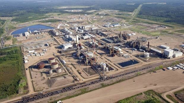 Nexen's Long Lake oilsands facility in northern Alberta .