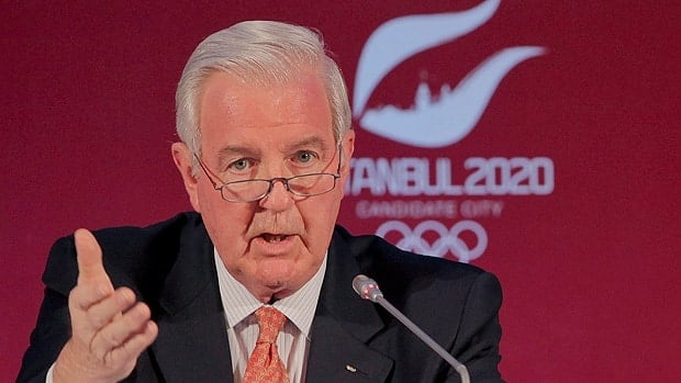 Craig Reedie, seen in March, has most recently served as IOC vice president.