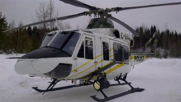 Police say poor weather conditions forced them to suspend search efforts for a missing man in the Gaspé provincial park