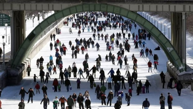 Skaters take to the Rideau Canal during Winterlude. The vent will now be run by the Ministry of Canadian Heritage.