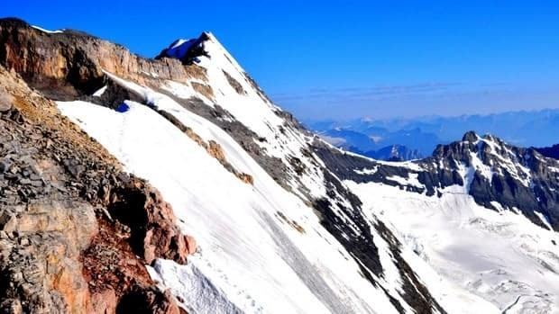 The climber and his partner were attempting to ascend the south summit of Mount Victoria, which has an elevation of 3464 metres, when he fell and sustained fatal injuries.