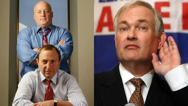 The most visible members involved in the NHL labour negotiations, from left Bill Daly, Gary Bettman, and Donald Fehr, haven't been able to reach an agreement with the scheduled start of the 2012-13 NHL season mere days away.