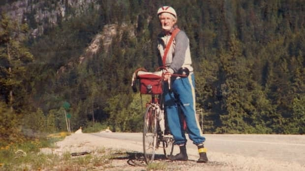 Cor Dykstra rode his bike from B.C. to Ontario.