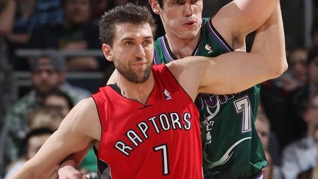 Andrea Bargnani missed 26 games earlier this season when he tore ligaments in his right elbow and sprained his right wrist Dec. 10 at Portland.