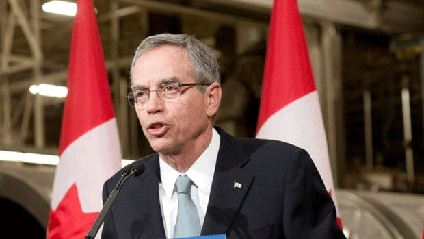 Natural Resources Minister Joe Oliver announced details of the government's plan to streamline regulatory approvals for resource development projects Tuesday in Toronto.