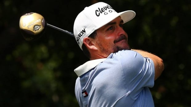 Keegan Bradley hits a shot during the third round of the Byron Nelson Championship at the TPC Four Seasons Resort on Saturday in Irving, Texas.