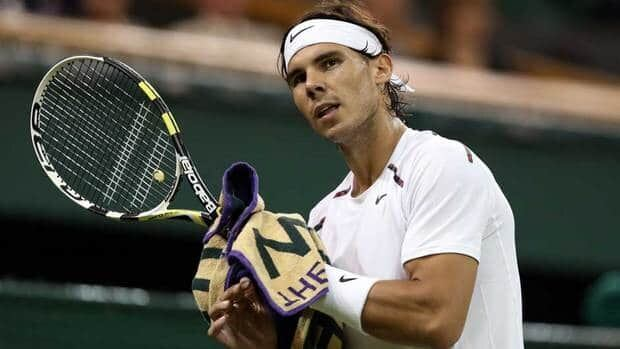 Rafael Nadal has avoided knee surgery so far, getting therapy in hopes of speeding the healing.