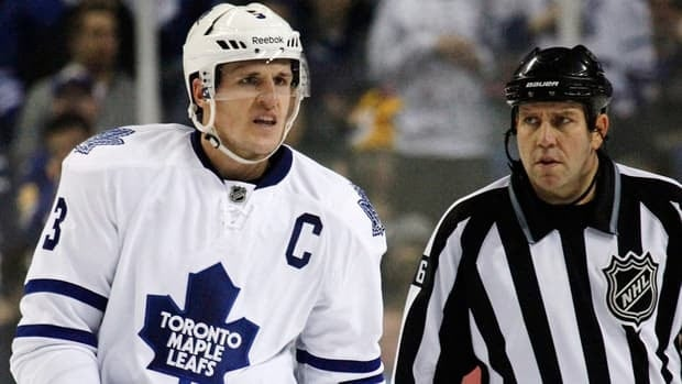 In a poll of 161 current NHL players, Maple Leafs captain Dion Phaneuf is the most overrated.