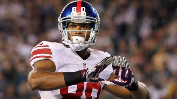 New York Giants wide receiver Victor Cruz, seen in a 2012 game, has averaged 84 receptions in the past two regular seasons.