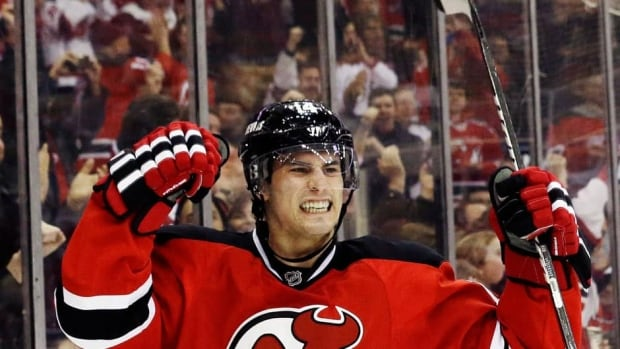 The Devils' Adam Henrique, who signed a long-term deal on Monday, had 51 points in his rookie season of 2011-12 but slipped to 11 goals and 16 points in 42 games last year.