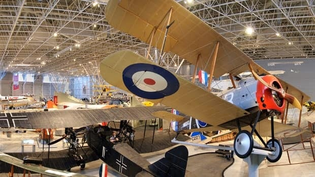 The Canada Aviation and Space Museum opened its grand hall Wednesday.