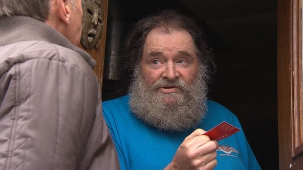 CBC News tracked down Ron McHaffie last year and found him in a run-down trailer park in Princeton, three hours northeast of Vancouver, where he claimed he was recovering from an illness.