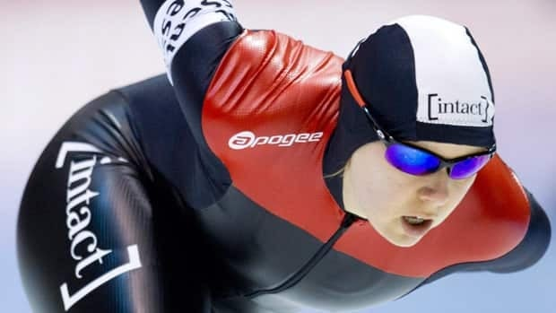 Cindy Klassen, seen in 2012, is gunning for one final Olympic appearance next year.