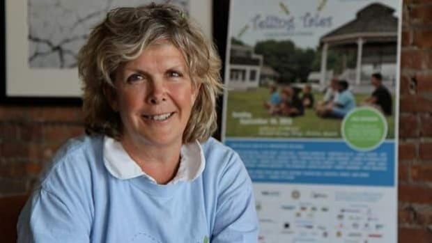 Susan Jasper conceived the idea of the Tellling Tales Festival seven years ago.