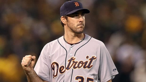 "Tigers pitcher Justin Verlander is much more sure of himself now than he was during his World Series debut in 2006 as a rookie. ""I feel like I have pitched in big games now and understand what my body's going to be going through and what my mind is going to be going through and I am able to rein it in a little more and use it more to my advantage."""