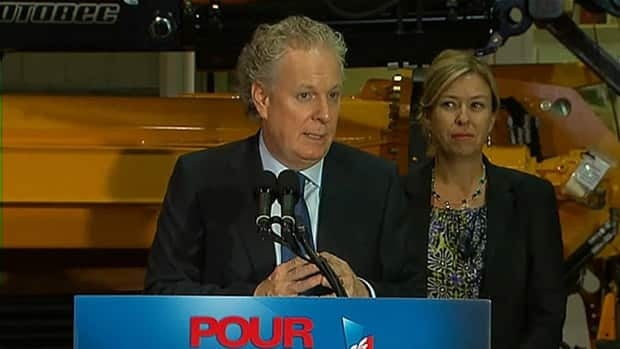 Liberal Leader Jean Charest waded into a political minefield Monday, and was again grilled about it Tuesday, with statements about Bill 101 and protecting the French language.