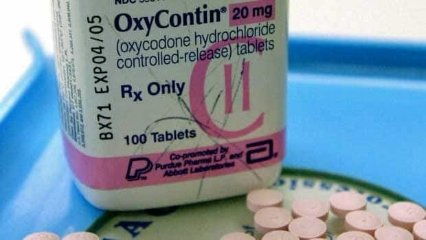report suggests that 242,075 excess OxyContin tablets were dispensed near the Detroit-Windsor Tunnel during a 14-month span.