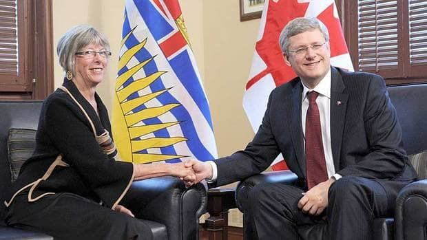 Prime Minister Stephen Harper named Nicola Valley rancher Judith Guichon as the lieutenant governor of British Columbia on Monday.