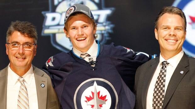 Jacob Trouba was originally drafted by the Winnipeg Jets in the first round, ninth overall, in the 2012 NHL Entry Draft.
