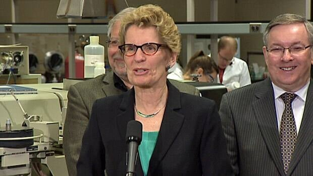 Premier Kathleen Wynne says there is much for opposition parties to support in her government's forthcoming budget. But she acknowledges they could vote against it and trigger an election she believes is unnecessary.