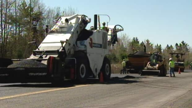 In 2011, the New Democratic government announced it was buying the mobile paving plant and said it would save taxpayers millions of dollars every year. The government said private contractors were charging too much to pave rural roads.