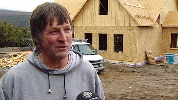 Don Bruce is building a new house, thanks in part to a real-estate boom in Long Harbour that saw him do very well on the sale of his old home.