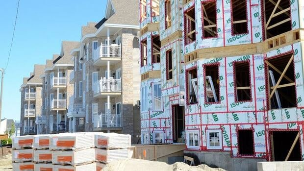 Workers will be back on the job on residential projects like this one Wednesday, now that a tentative deal has been reached in their dispute with employers.