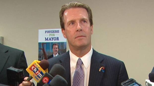 Michael Fougere is running to be mayor of Regina.