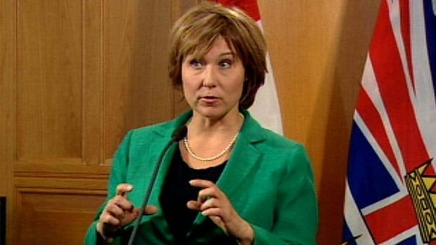 B.C. Premier Christy Clark says her government has tried to address the courts' concerns in the latest version of the so-called election 'gag law.'