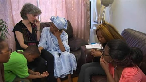 The federal government has granted a stay of deportation for Kankou Keita and her five children.