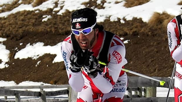 Brian McKeever, seen in 2011, added a world championship win Monday in Sweden to his past Paralympic honours.