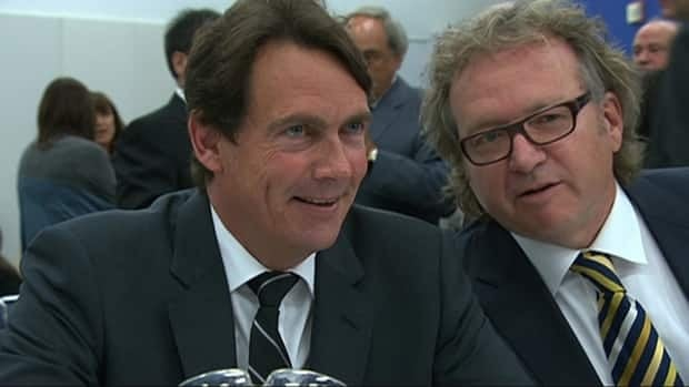 Pierre Karl Peladeau, former CEO of Quebecor Inc., says he is happy to work with Hydro-Québec.
