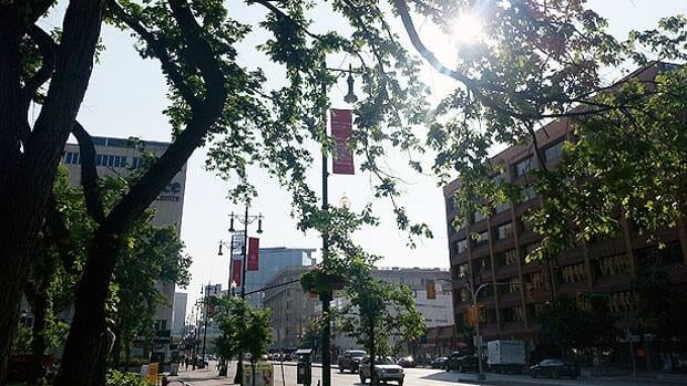 It's going to be a scorcher in Winnipeg today with the temperature expected to hit 31 C.
