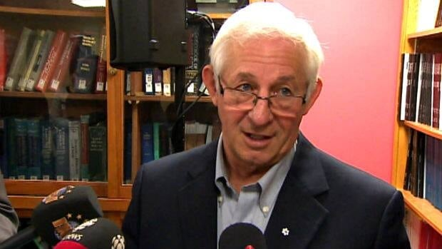 Frank Fagan speaks with reporters in St. John's about his appointment as Newfoundland and Labrador's next lieutenant-governor.